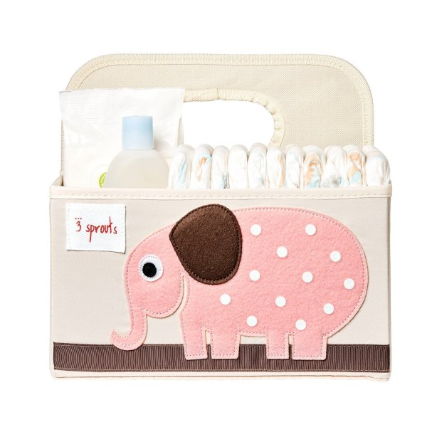 3sprouts Baby Diaper Caddy, Elephant - Organizer B...
