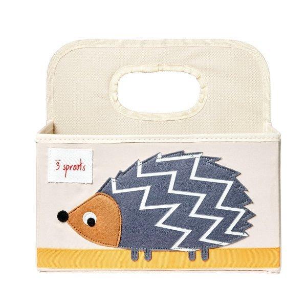 3sprouts Baby Diaper Caddy, Hedgehog - Organizer B...