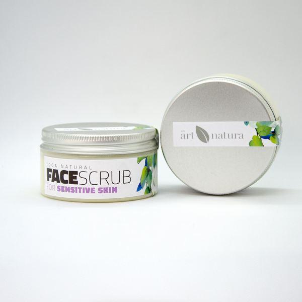 ArtNatura face scrub for sensitive skin 100ml