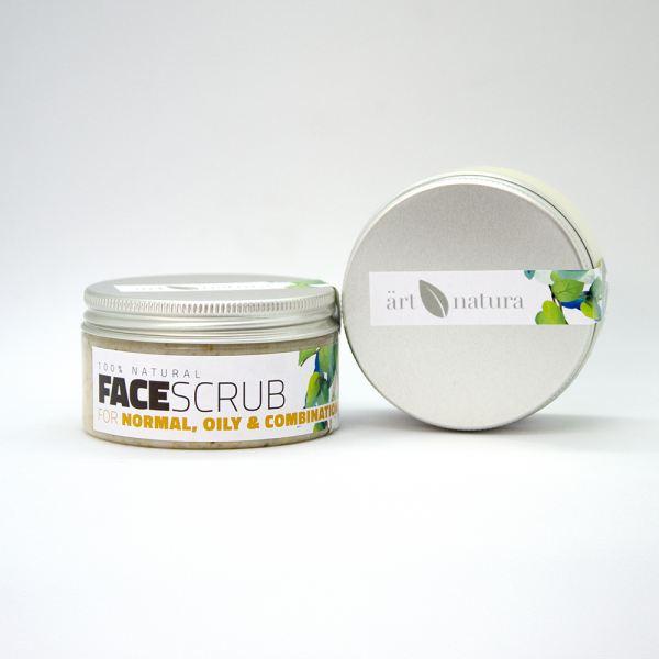 ArtNatura face scrug for normal, oily and combinat...