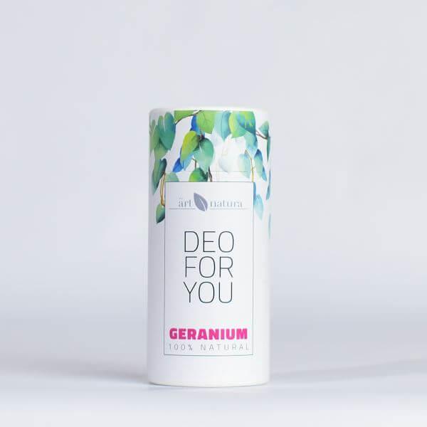 Artnatura Geranium natural deodorant
