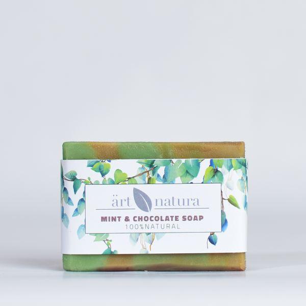 ArtNatura mint chocolate soap