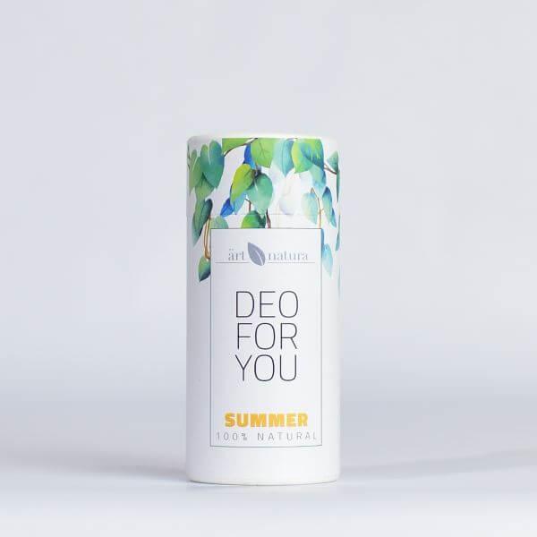 Artnatura summer natural deodorant