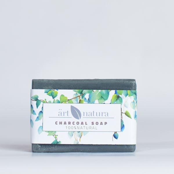 ArtNatura charchoal soap with tea tree oil