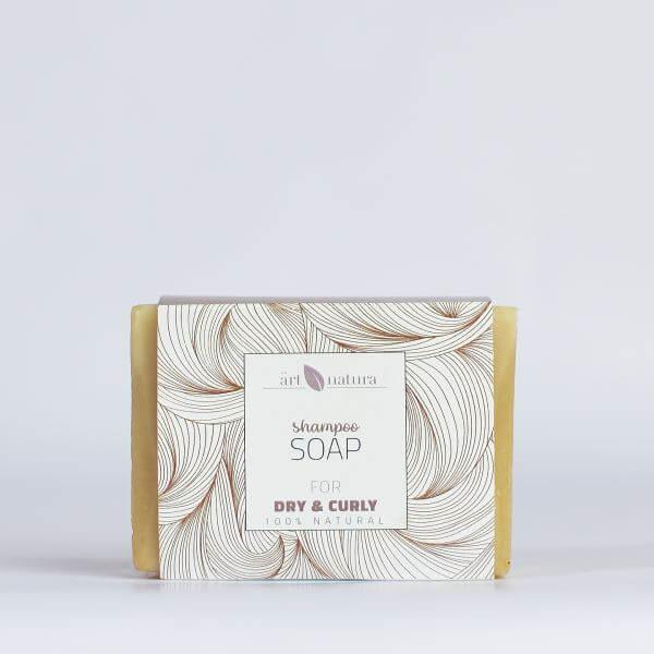 Artnatura shampoo soap for dry and curly hair