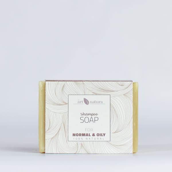 Artnatura shampoo soap for normal and oily hair