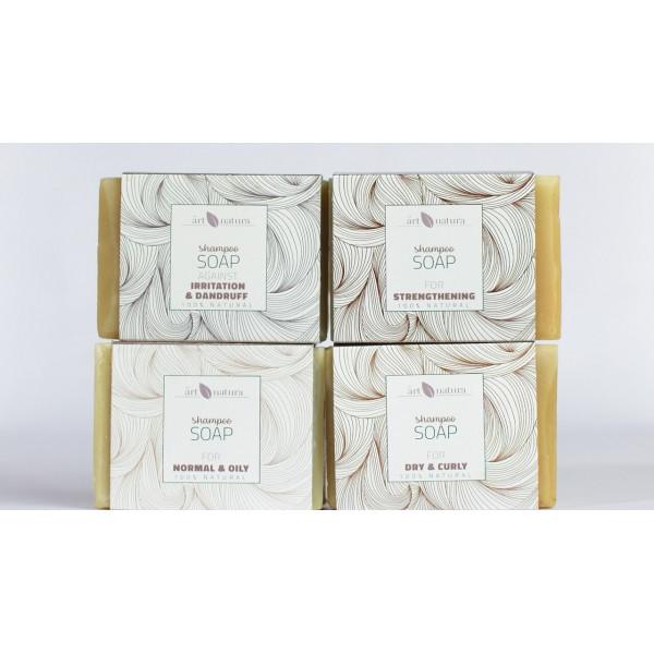 Artnatura shampoo soap against irritation and dand...