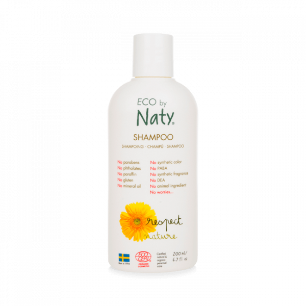 Naty Shampoo 200 ml