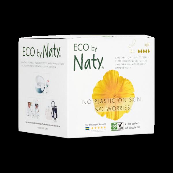 Naty Eco Thin Pads Night