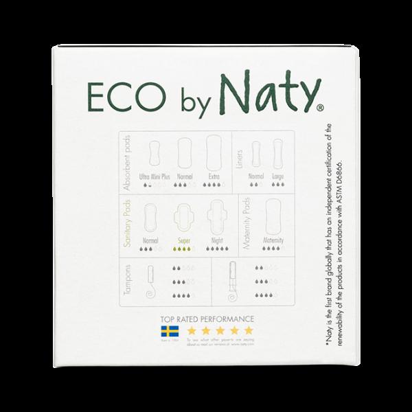 Naty Eco Thin Pads Super