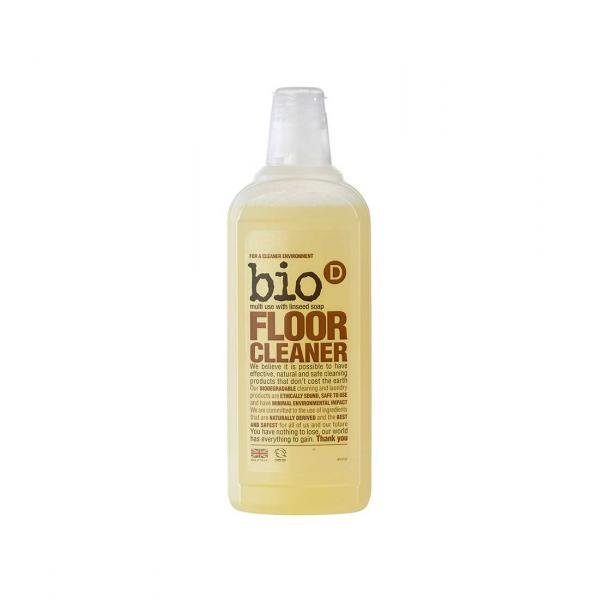 Bio-D Floor Cleaner with Linseed Soap 0.75l