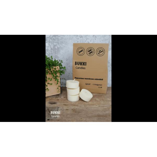 Rapeseed wax tealight refill 12 pcs