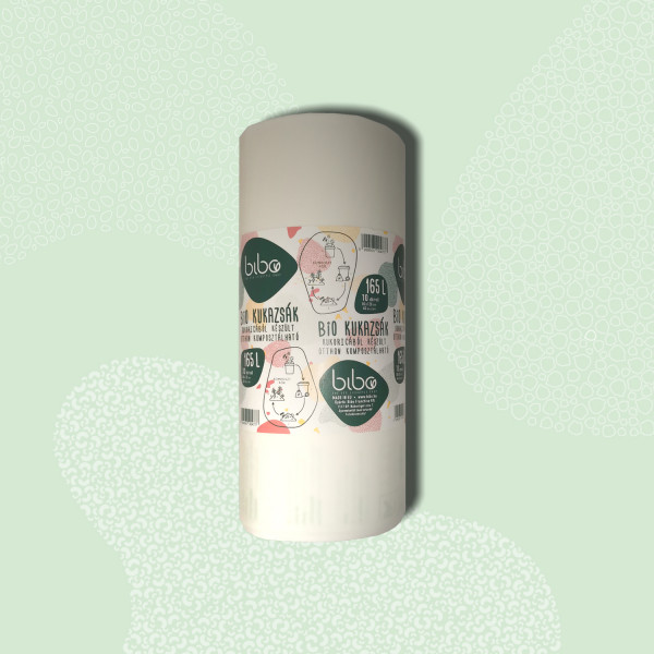 Compostable waste bag 165 l (10pcs)