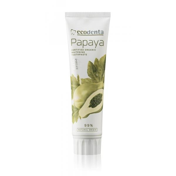 ECODENTA COSMOS Organic whitening toothpaste with ...