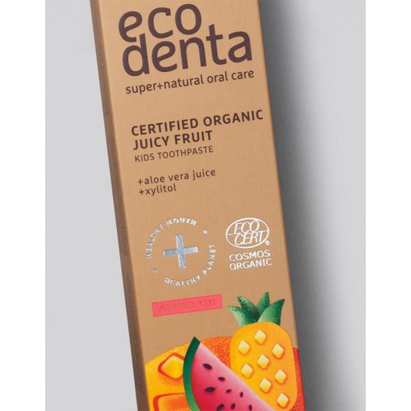 ECODENTA COSMOS ORGANIC Juicy fruit kids toothpast...