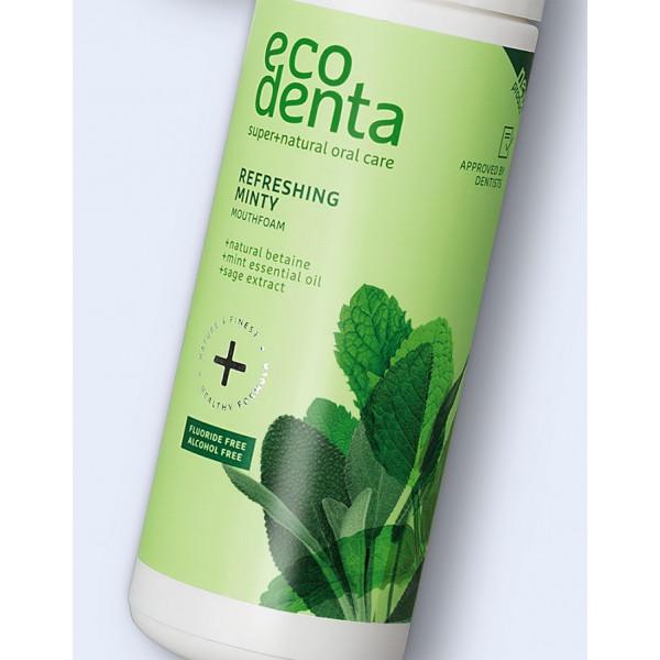 ECODENTA Refreshing minty mouthfoam, 50ml
