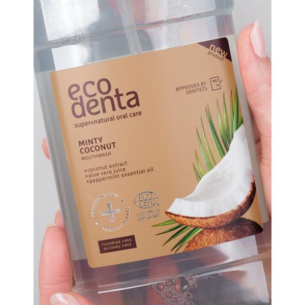 ECODENTA COSMOS ORGANIC Minty coconut mouthwash 50...