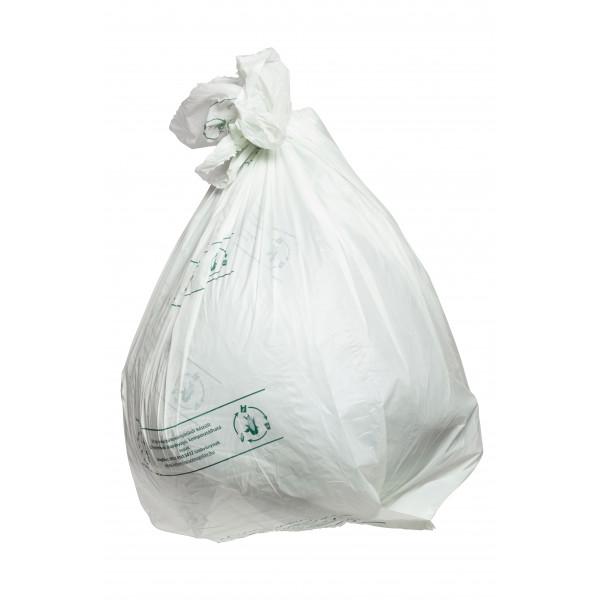 Eco bin liner, 120 l, 10 pcs, 1 roll