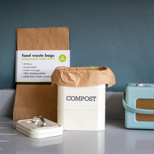 Compostable Food Waste Paper Bags