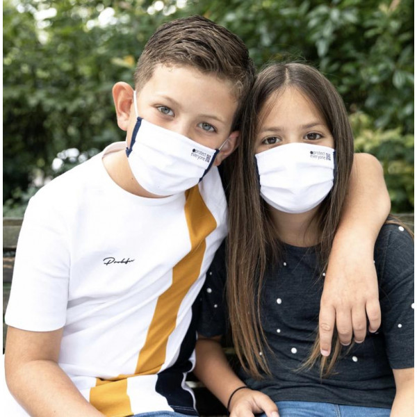 Organic Cotton 3 Layer Face Mask for Kids