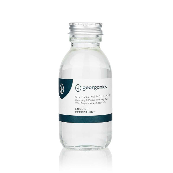 Oil Pulling Mouthwash - English Peppermint 100 ml