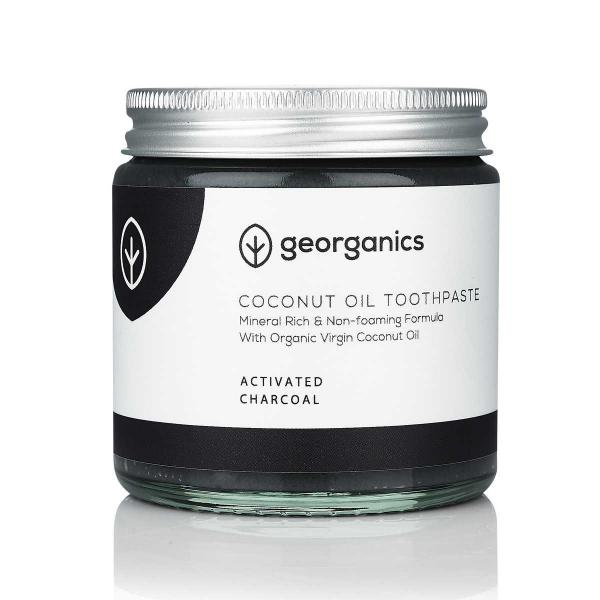 Coconut Oil Toothpaste - Activated Charcoal 60ml
