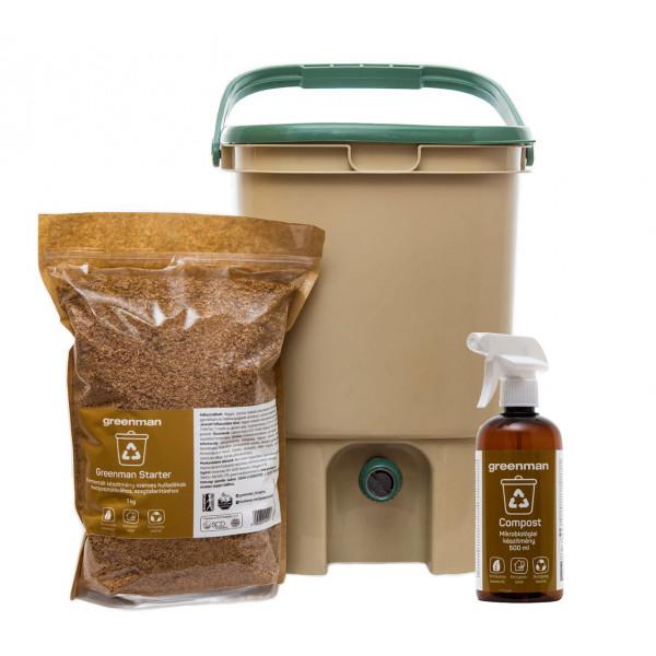 Greenman indoor composter pack bundle