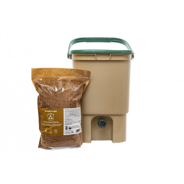 Indoor Composter with Greenman starter