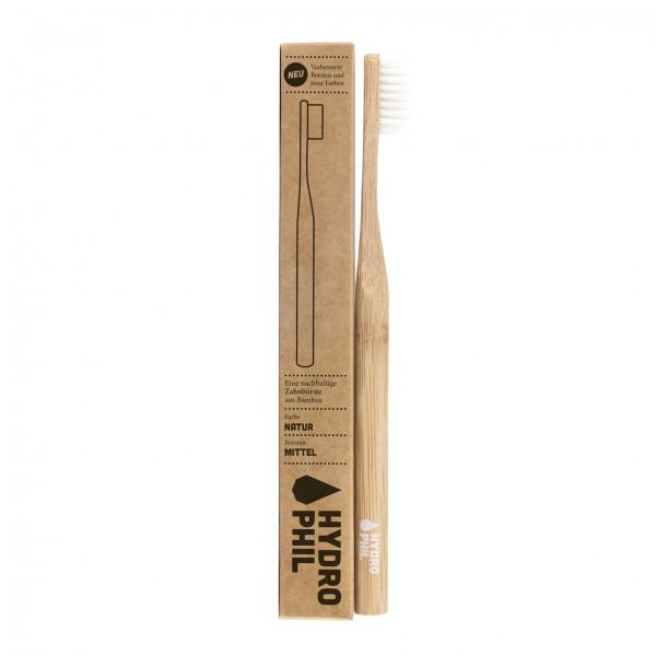 Sustainable toothbrush - natural medium 1pc