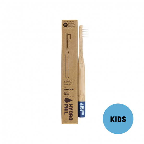 Sustainable toothbrush for kids - blue extra soft ...