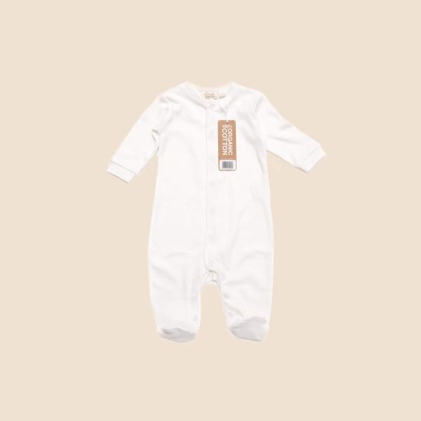 Long Sleeve Baby Grow With Feet