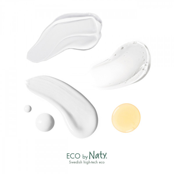 Naty Baby Bath Foam with organic aloe, 200 ml