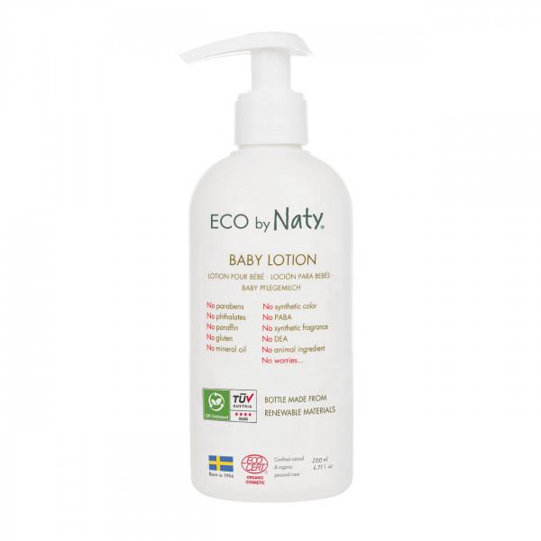 Naty Baby Lotion with organic aloe 200ml