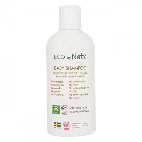 Naty baby shampoo with organic aloe  200ml