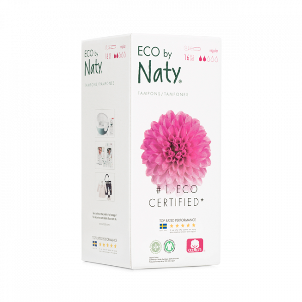 Naty organic cotton normal tampon with applicator