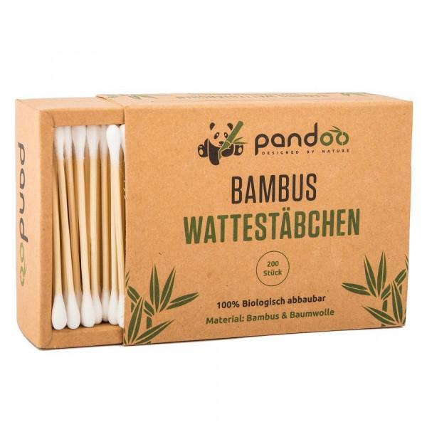Pamut bambusz fültisztító pálcika 200 db