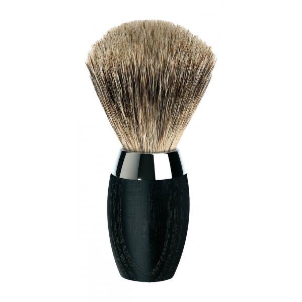 Bog oak wood shaving brush