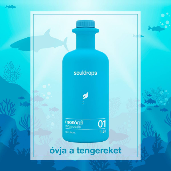 Ecofriendly laundry detergent seedrop 1,3l