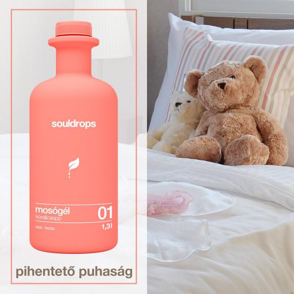 Ecofriendly laundry detergent coraldrop 1,3l