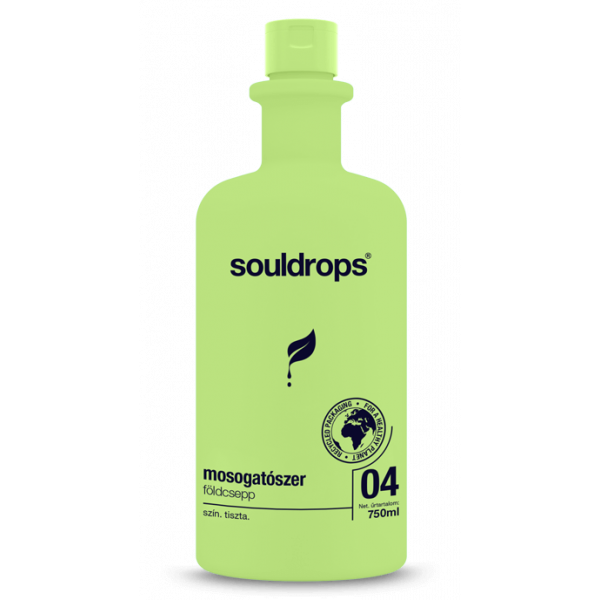 Ecofriendly washing up liquid earthdrop 0,75l
