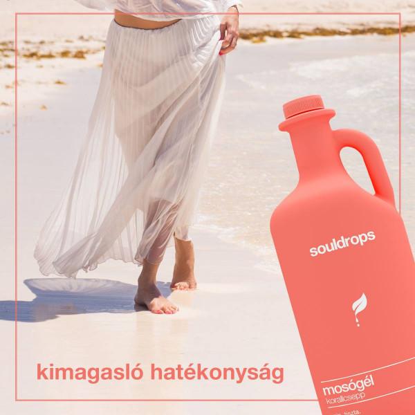 Ecofriendly laundry detergent coraldrop 3,2l