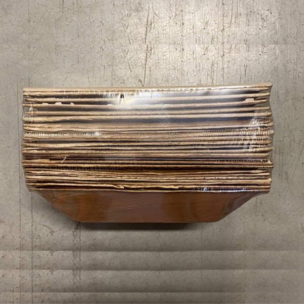 compostable rectangle palm leaf bowl 25 pcs