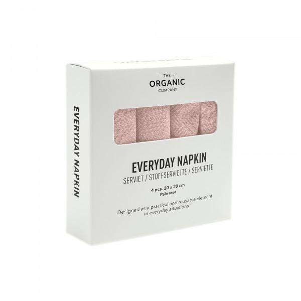 Everyday napkin 4pcs rose
