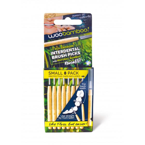 Bamboo brush picks small 8 pcs