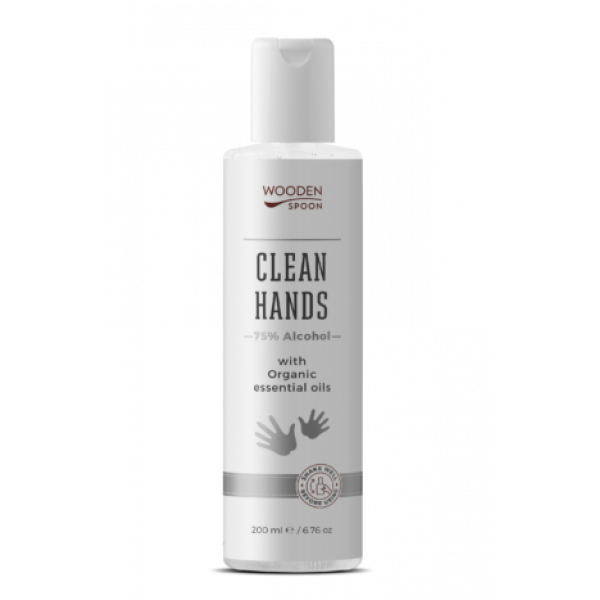 Clean Hands liquid with Alcohol and Organic essent...