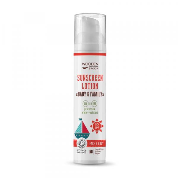 Sunscreen lotion Baby & Family 50 SPF (100ml)