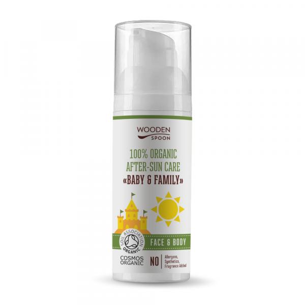 Organic after-sun cream, 50 ml